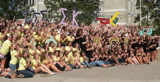 Bid Day From The Perspective Of A New Member