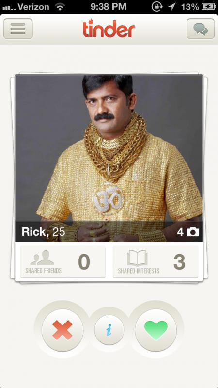 Rick? You mean RICH!
