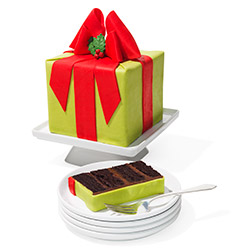 8. Present Cake