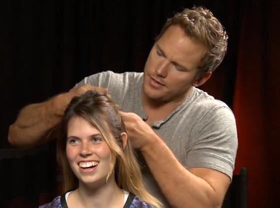 Chris Pratt Braids Hair