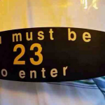 Must be 23