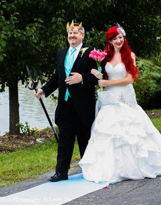 Little Mermaid Wedding 6