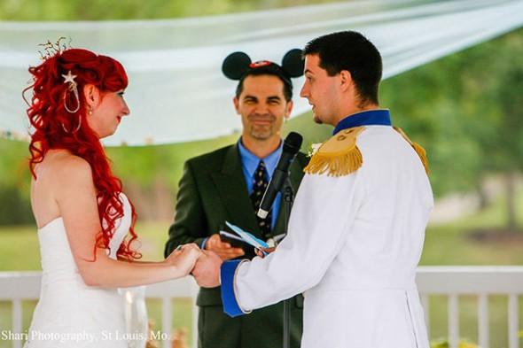 Little Mermaid Wedding 7