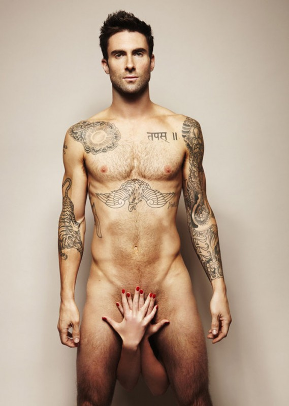 Adam Levine, sooo hot. Want to touch the hiney.