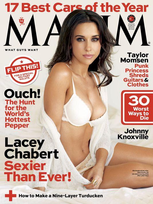 Lacey Chabert Maxim 4
