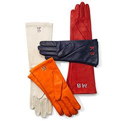 5. Monogram Gloves