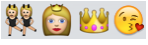Girlie Emojis