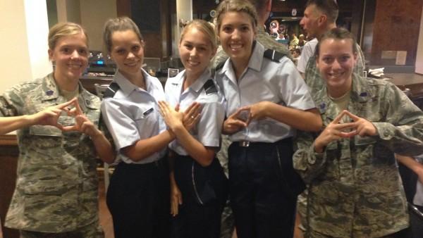 11. Multiple sororities, one US Air Force. TSM.