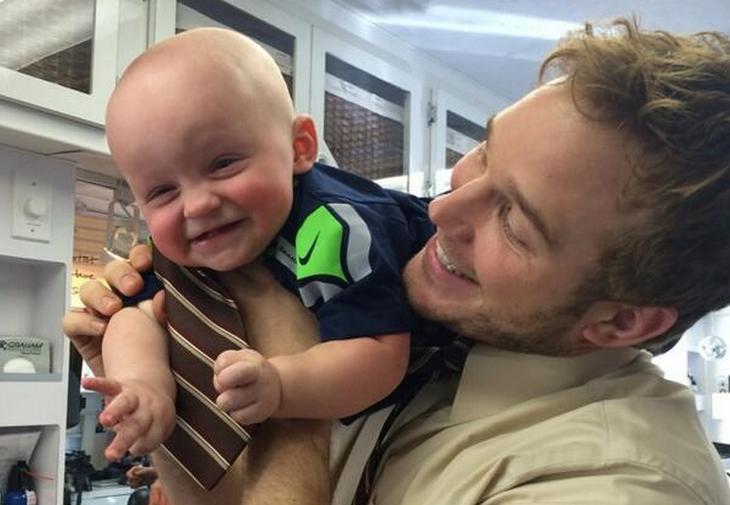 Chris Pratt Baby