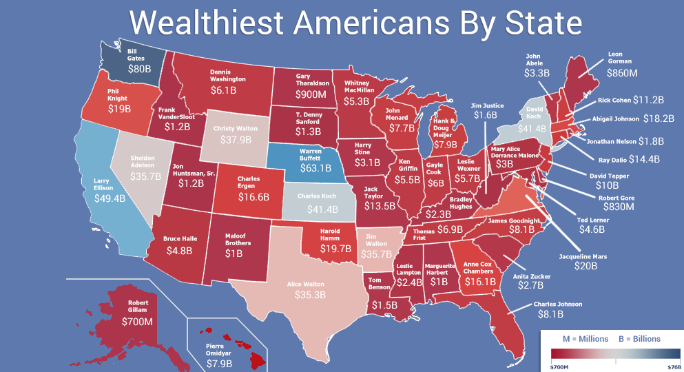 Wealthiest Person By State